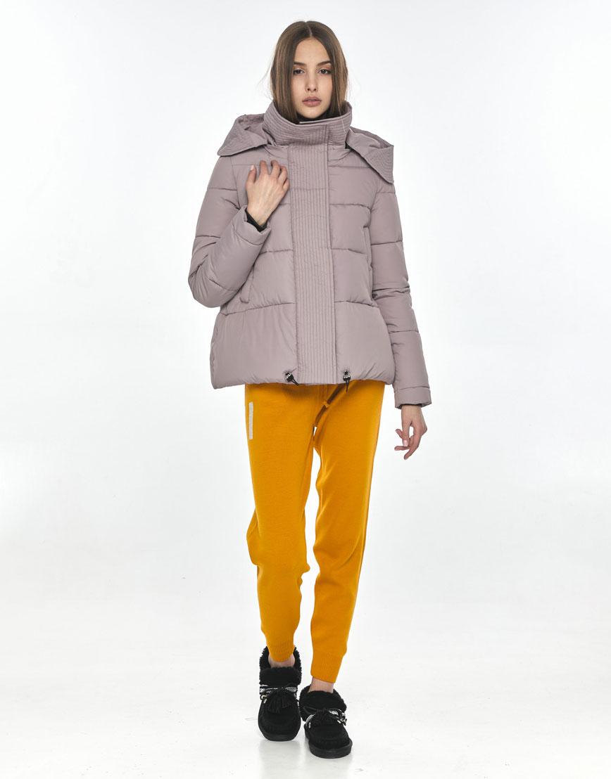Оригинальная женская куртка Vivacana пудровая 9742/21 фото 1