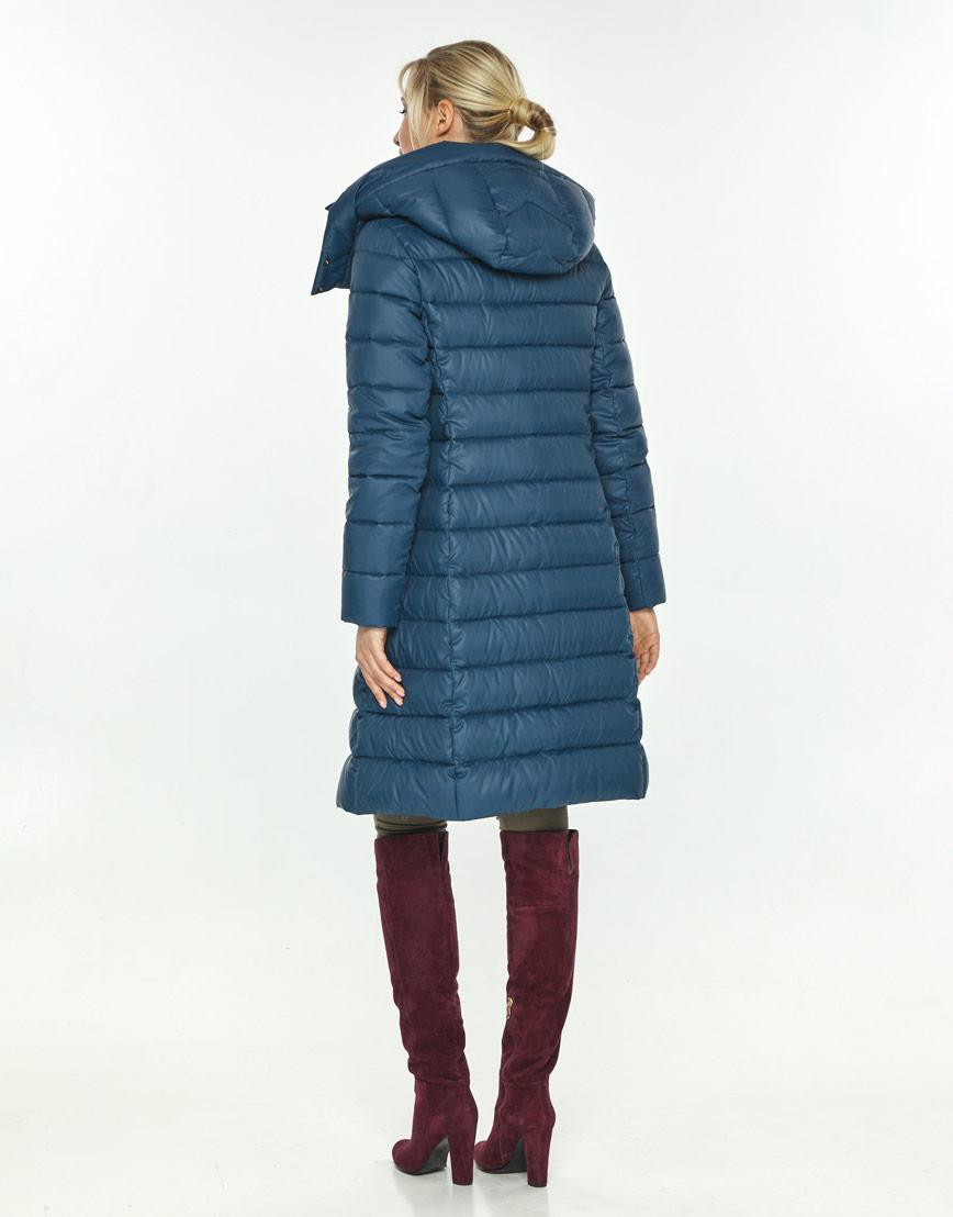 Фирменная куртка большого размера женская Kiro Tokao синяя 60084 фото 3