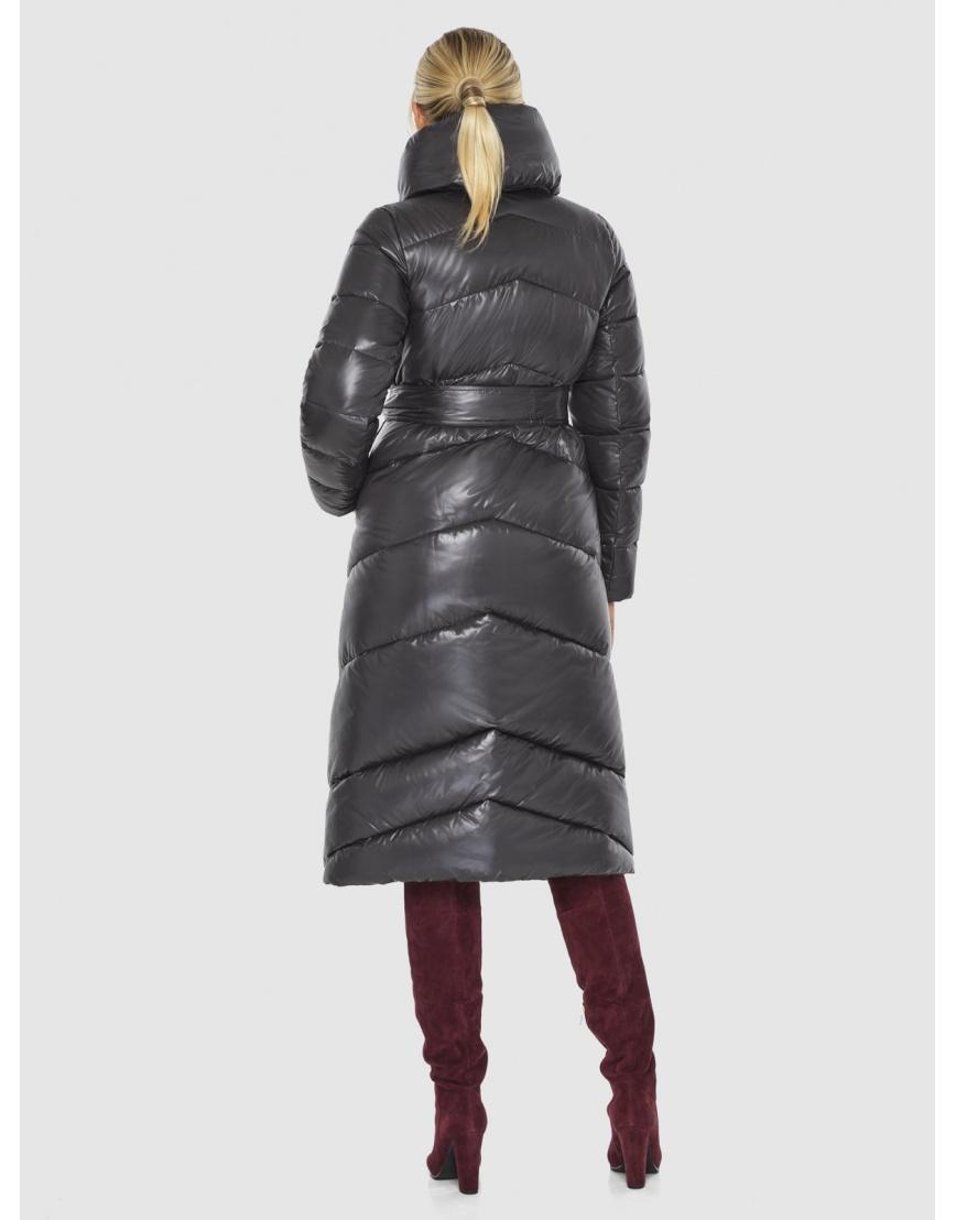Куртка люксовая женская Kiro Tokao серая 60035 фото 4