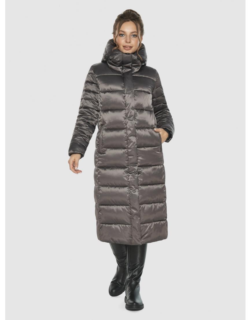 Подростковая капучиновая куртка Ajento модная на зиму 21152 фото 6
