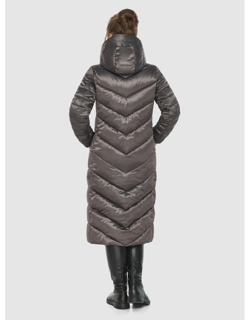Подростковая капучиновая куртка Ajento модная на зиму 21152 фото 4