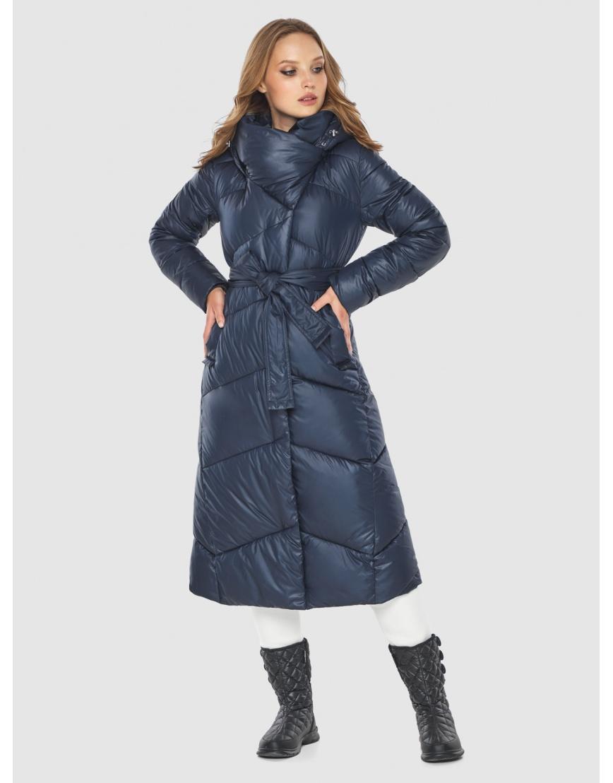 Куртка длинная женская Tiger Force цвет синий TF-50218 фото 1