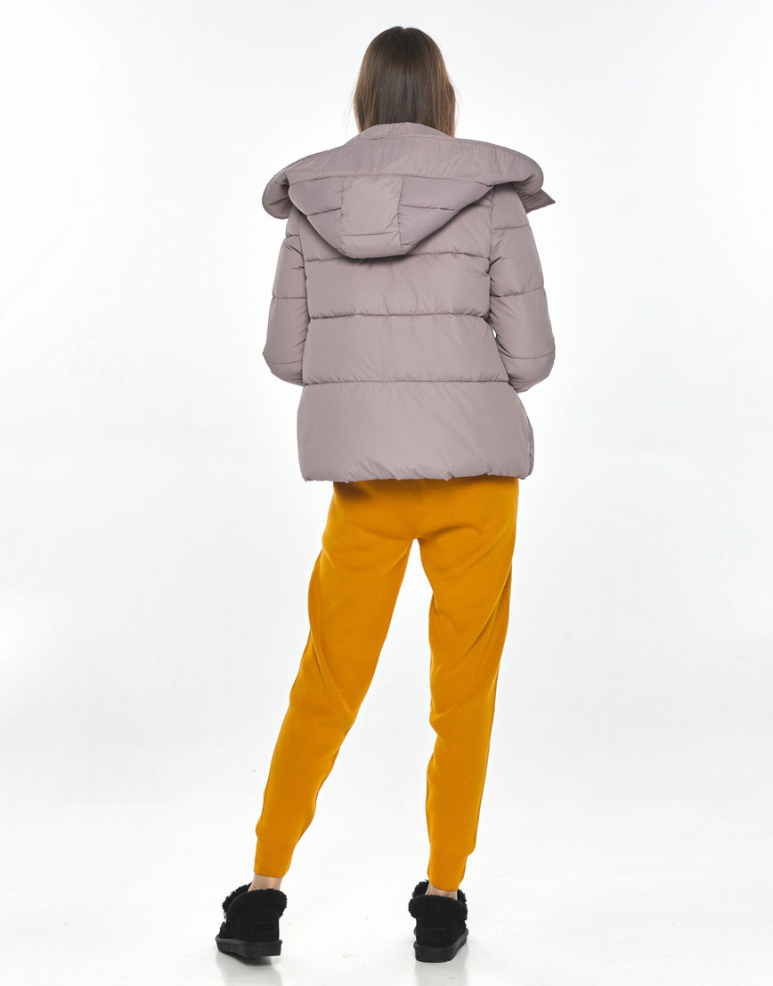 Оригинальная женская куртка Vivacana пудровая 9742/21 фото 3