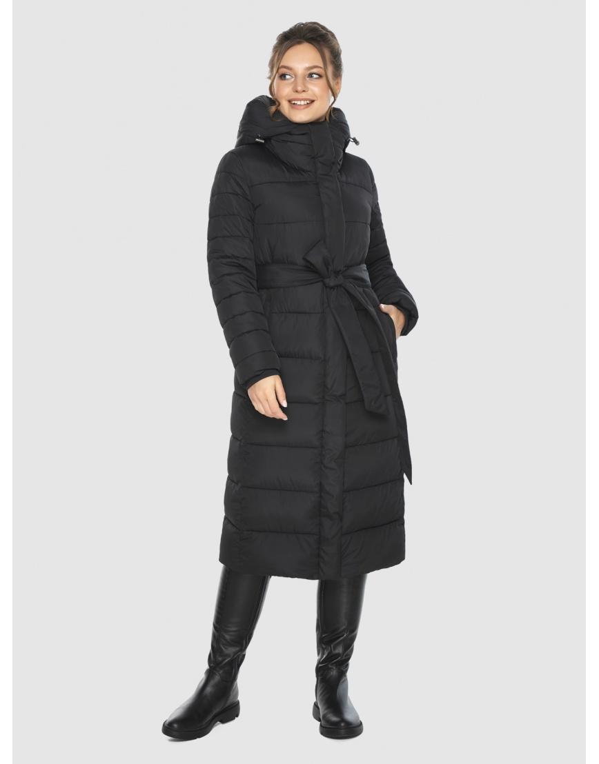 Фирменная подростковая куртка Ajento зимняя чёрная 21152 фото 6