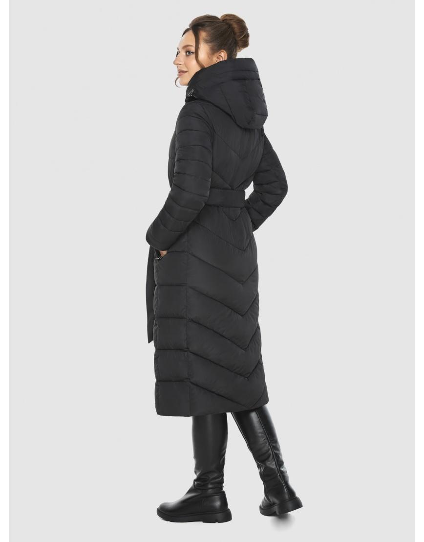 Фирменная подростковая куртка Ajento зимняя чёрная 21152 фото 4