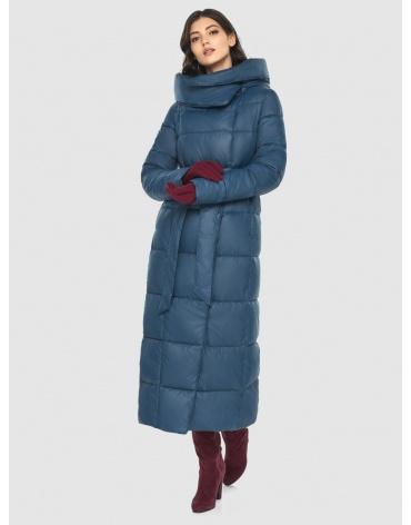 Женская оригинальная синяя куртка Vivacana 8706/21 фото 1