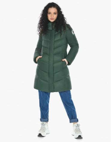 Куртка пуховик Youth женский нефритовый оригинальный модель 21025 фото 1