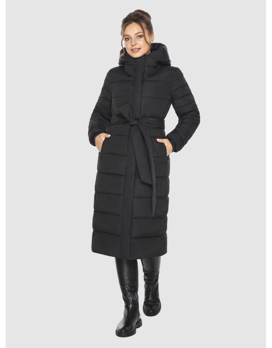 Фирменная подростковая куртка Ajento зимняя чёрная 21152 фото 3