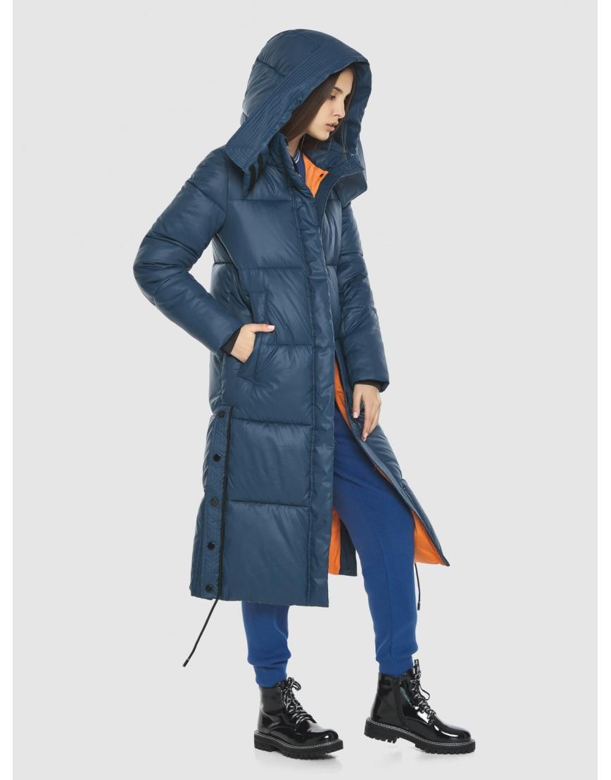 Удлинённая куртка Vivacana синяя женская 7654/21 фото 1