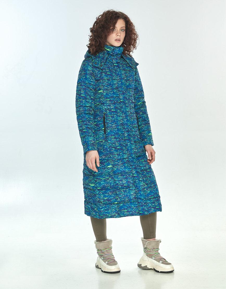 Стильная куртка Moc женская с рисунком зимняя M6430 фото 1