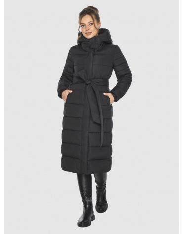 Фирменная подростковая куртка Ajento зимняя чёрная 21152 фото 1