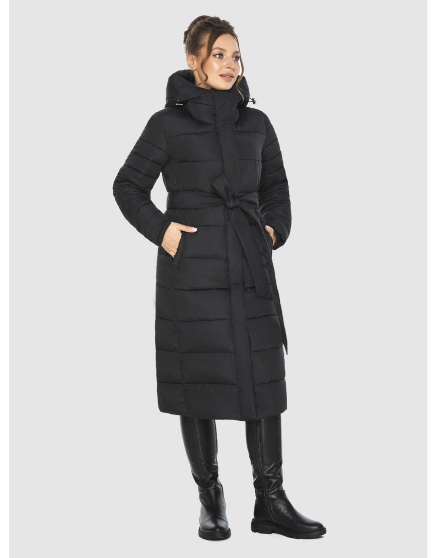 Фирменная подростковая куртка Ajento зимняя чёрная 21152 фото 2