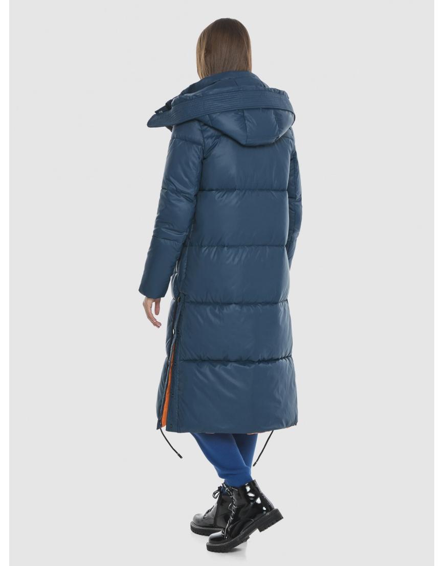 Удлинённая куртка Vivacana синяя женская 7654/21 фото 4