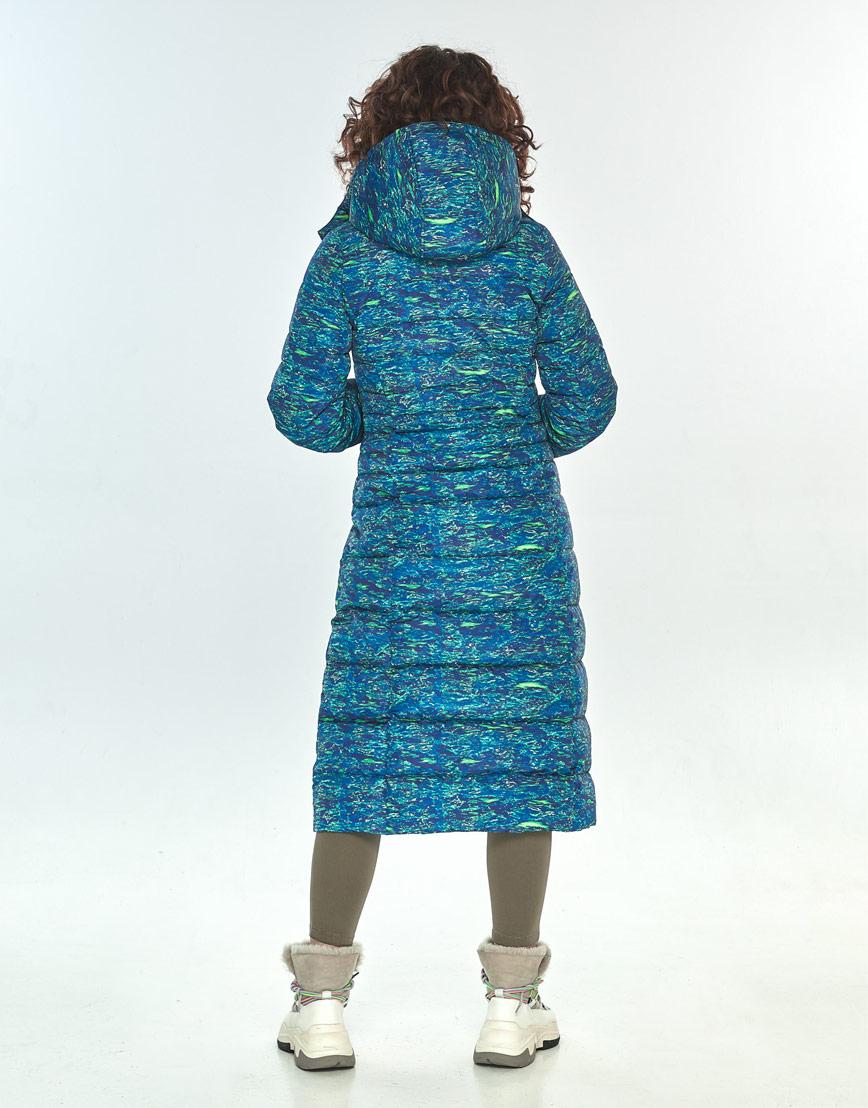 Стильная куртка Moc женская с рисунком зимняя M6430 фото 3