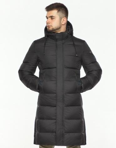 Куртка зимняя графитовая комфортная модель 28610 фото 1