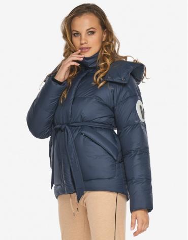Пуховик куртка Youth синяя качественная молодежная модель 24350 фото 1