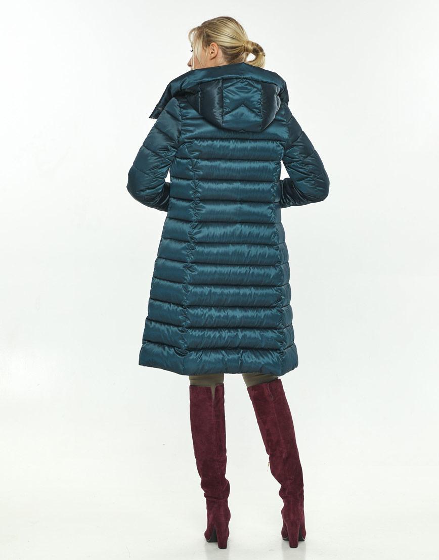 Трендовая зелёная куртка большого размера женская Kiro Tokao 60084 фото 3