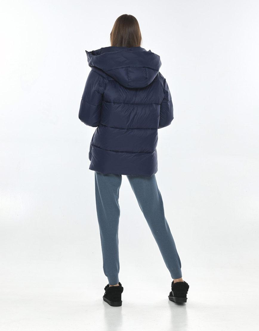 Куртка осенне-весенняя синяя женская Vivacana 7354/21 фото 3