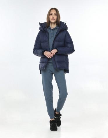 Куртка осенне-весенняя синяя женская Vivacana 7354/21 фото 1