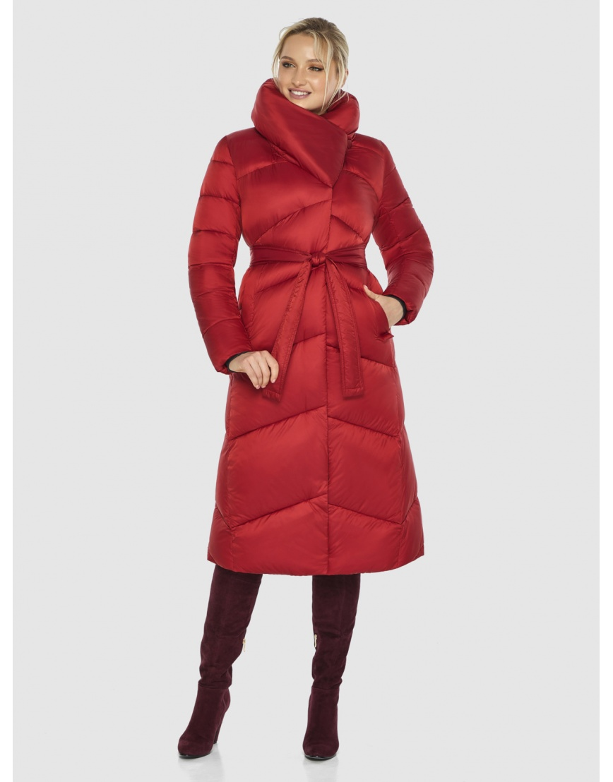 Красная куртка фирменная женская Kiro Tokao 60035 фото 6