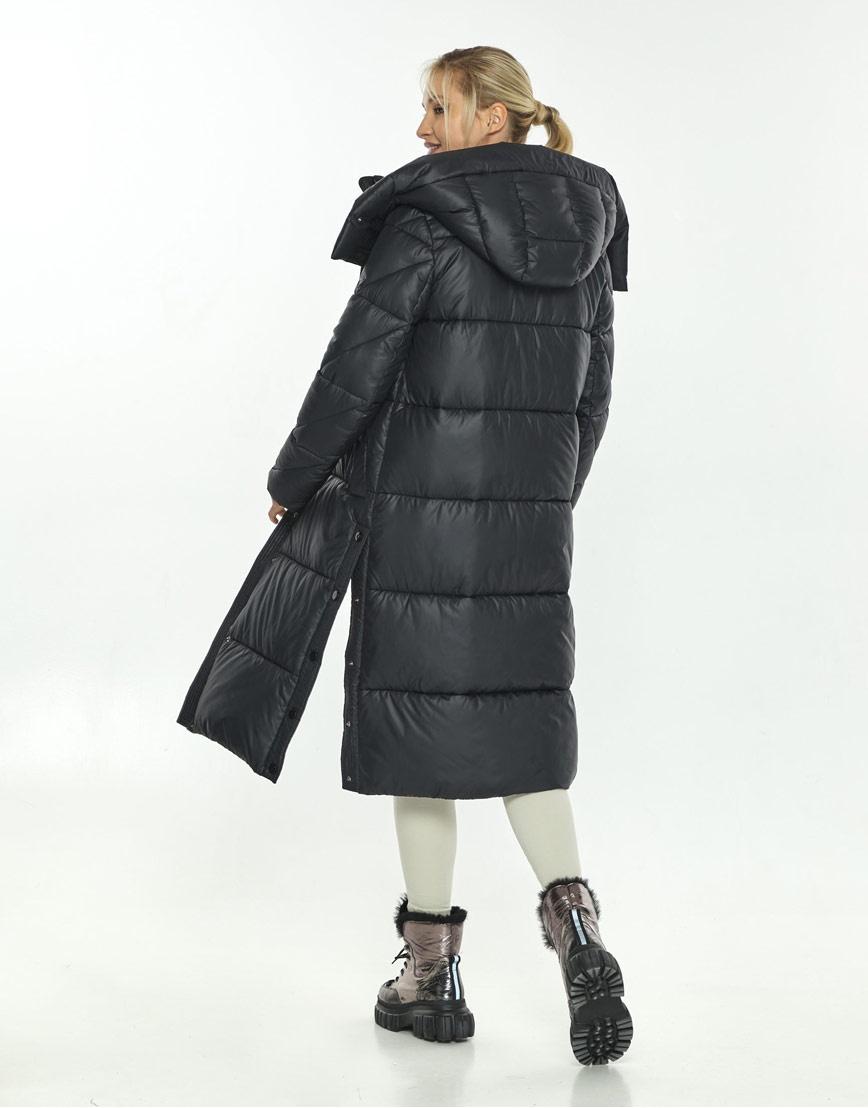 Чёрная комфортная куртка женская Kiro Tokao зимняя 60024 фото 3