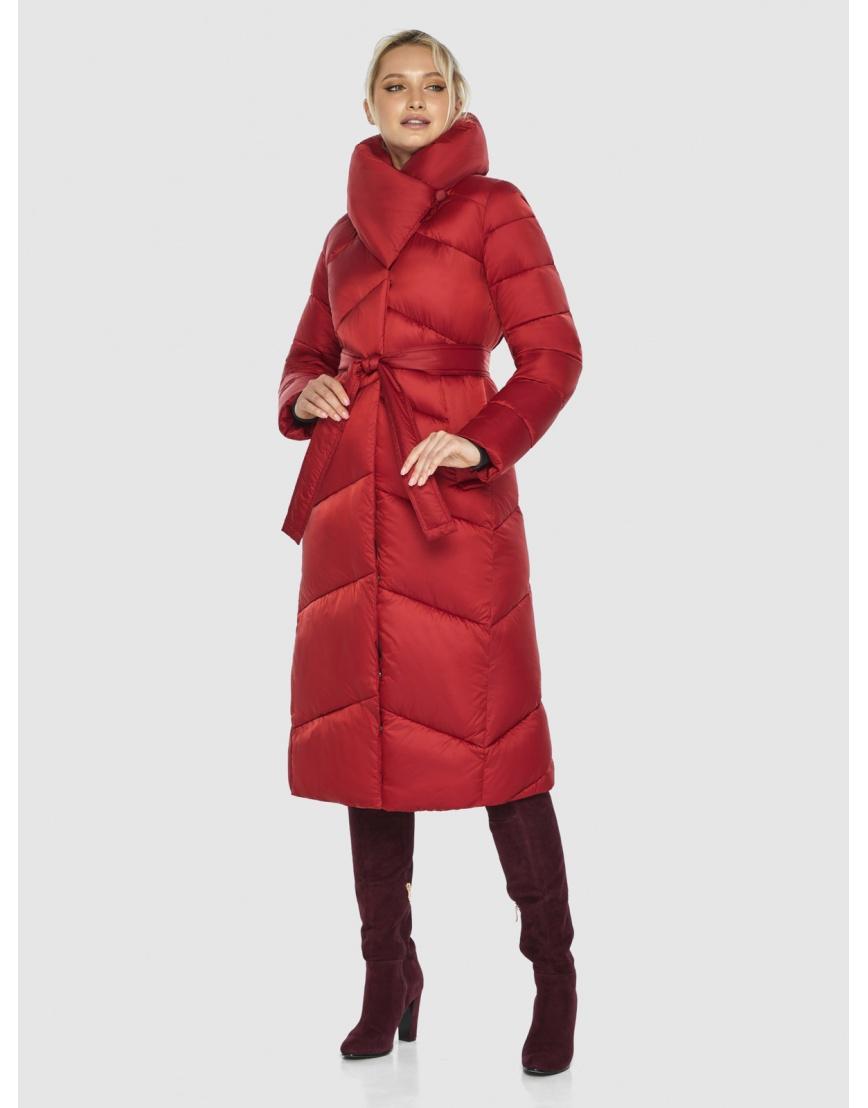 Красная куртка фирменная женская Kiro Tokao 60035 фото 1
