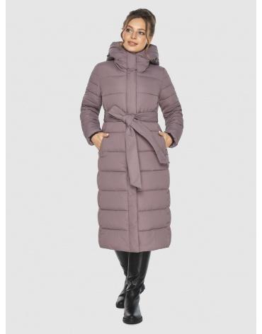 Куртка для подростков стильная Ajento зимняя цвет пудра 21152 фото 1