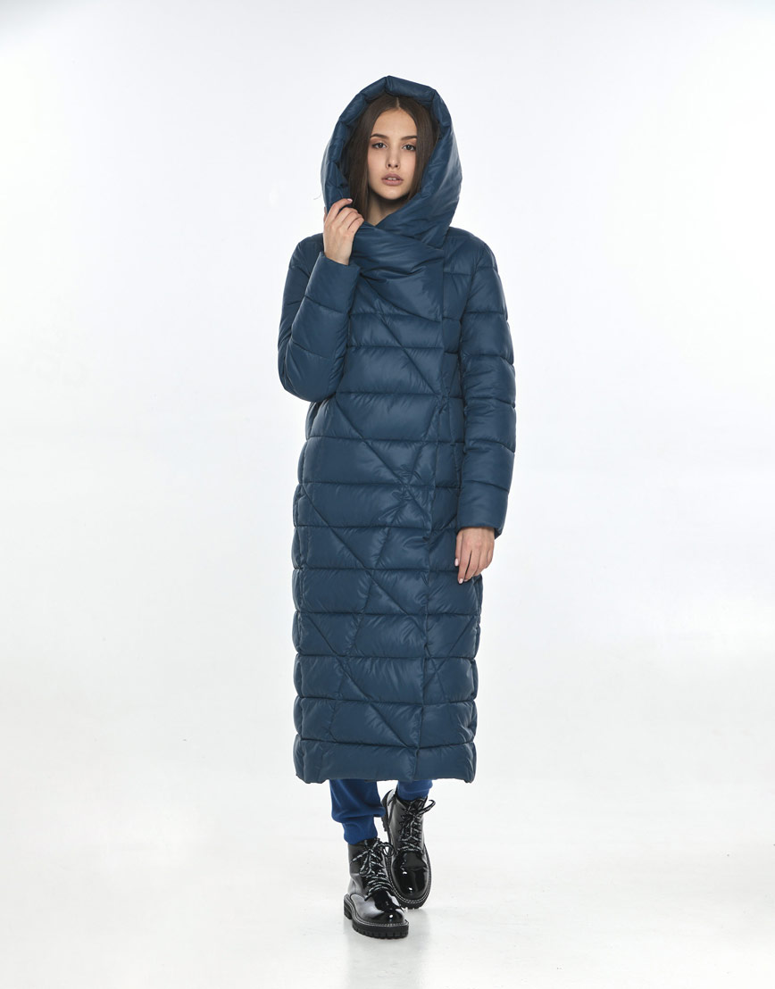 Куртка синяя Vivacana женская фирменная 9470/21 фото 2
