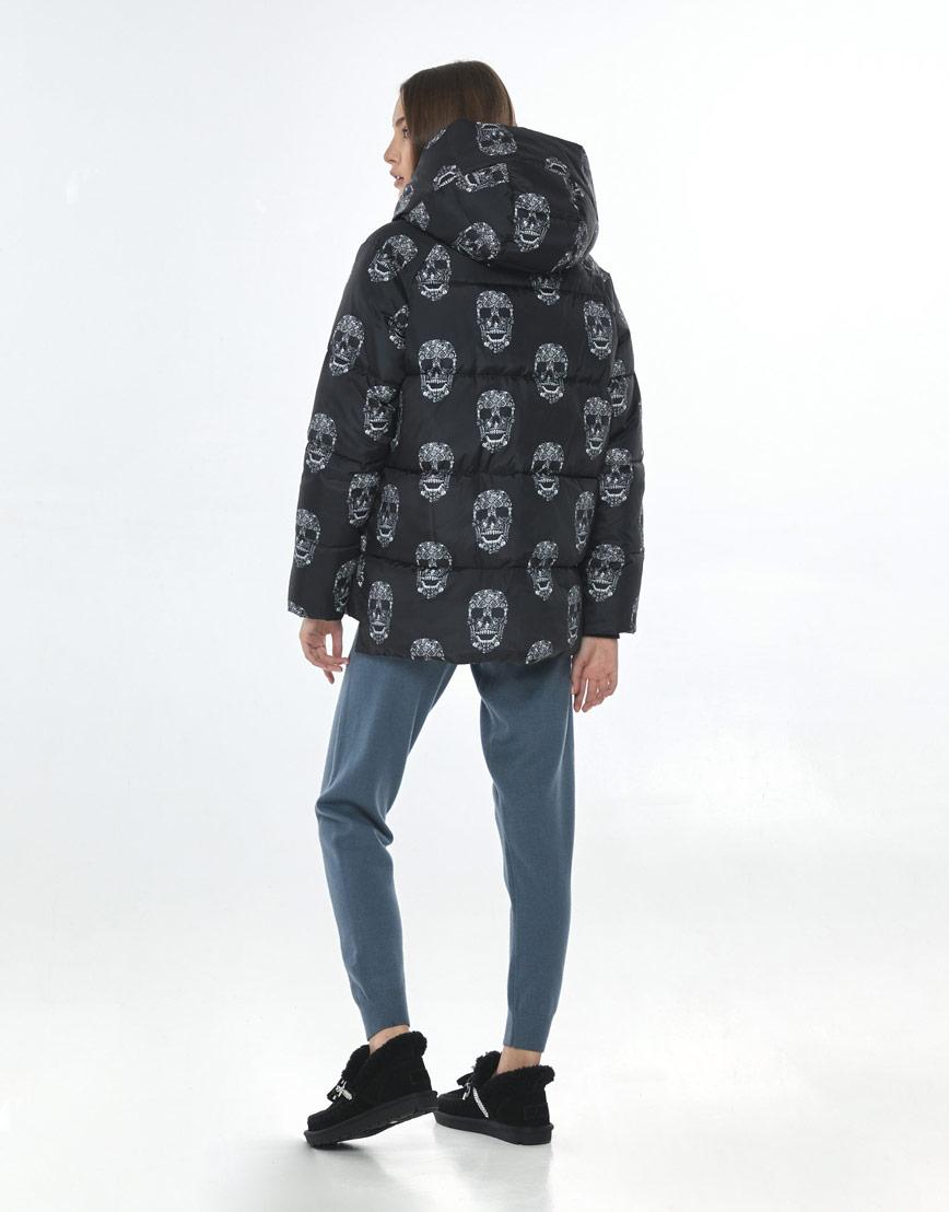 Осенняя стильная куртка с рисунком женская Vivacana 7354/21 фото 3