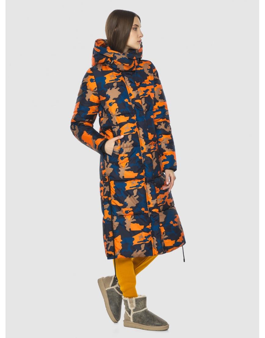 Куртка с рисунком женская Vivacana длинная 7654/21 фото 5