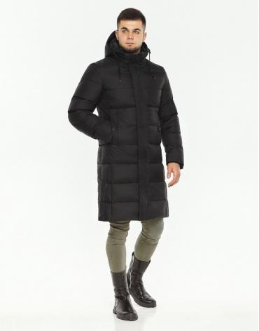 Куртка оригинальная мужская черного цвета модель 28610 фото 1