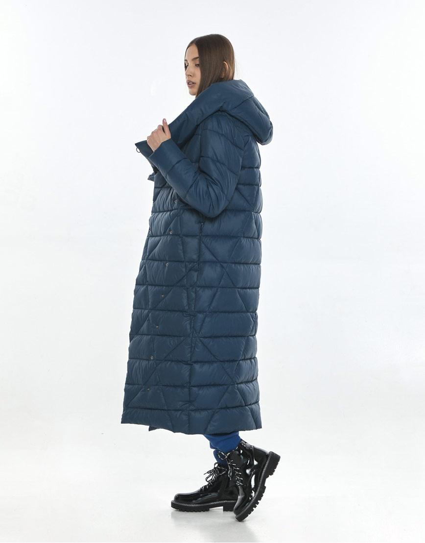 Куртка синяя Vivacana женская фирменная 9470/21 фото 3