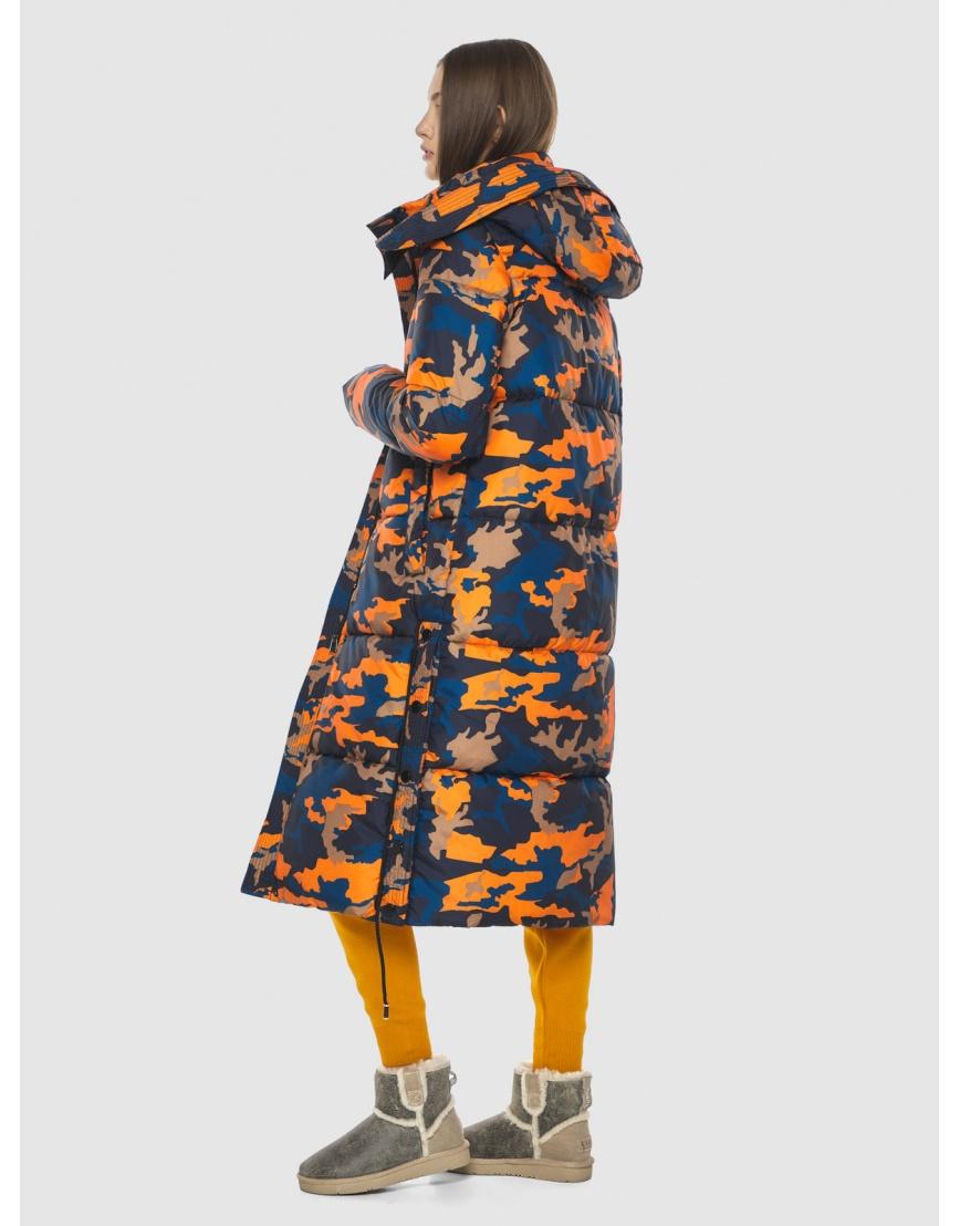 Куртка с рисунком женская Vivacana длинная 7654/21 фото 2