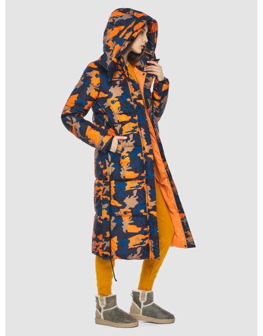 Куртка с рисунком женская Vivacana длинная 7654/21 фото 1
