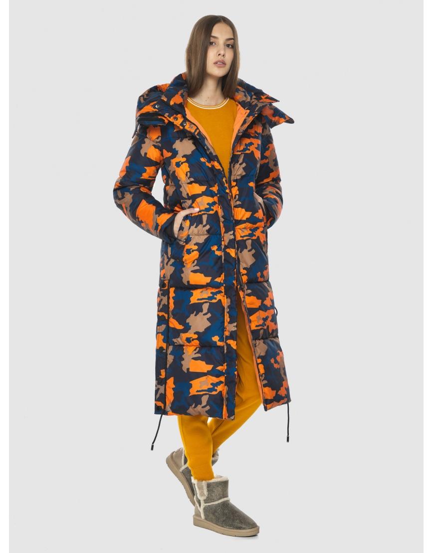 Куртка с рисунком женская Vivacana длинная 7654/21 фото 3