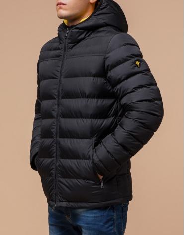 Оригинальная куртка графитового цвета современная модель 25490