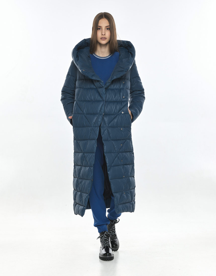 Куртка синяя Vivacana женская фирменная 9470/21 фото 1