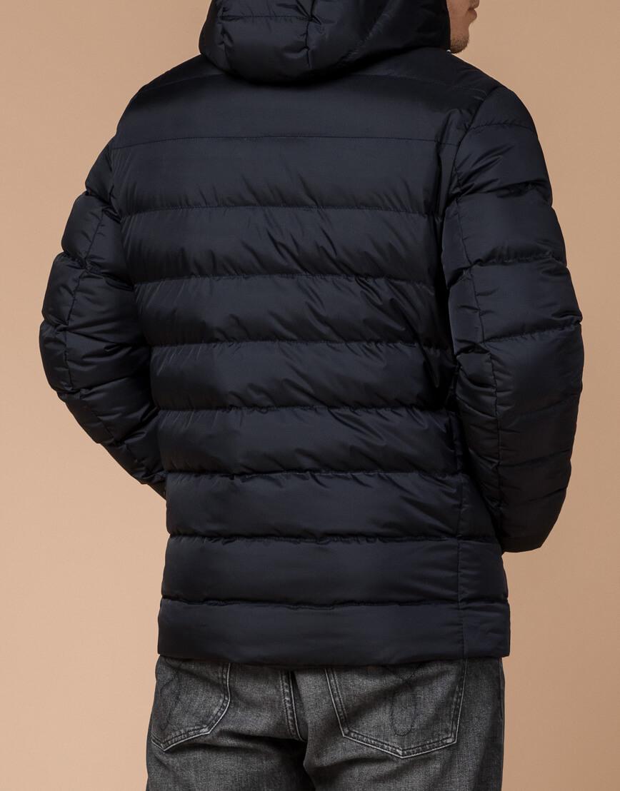 Зимняя куртка мужская цвет темно-синий-красный модель 35228 оптом фото 3