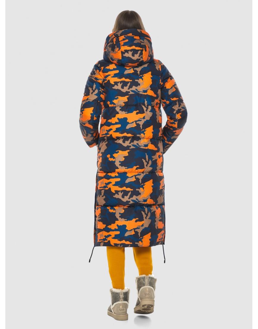 Куртка с рисунком женская Vivacana длинная 7654/21 фото 4