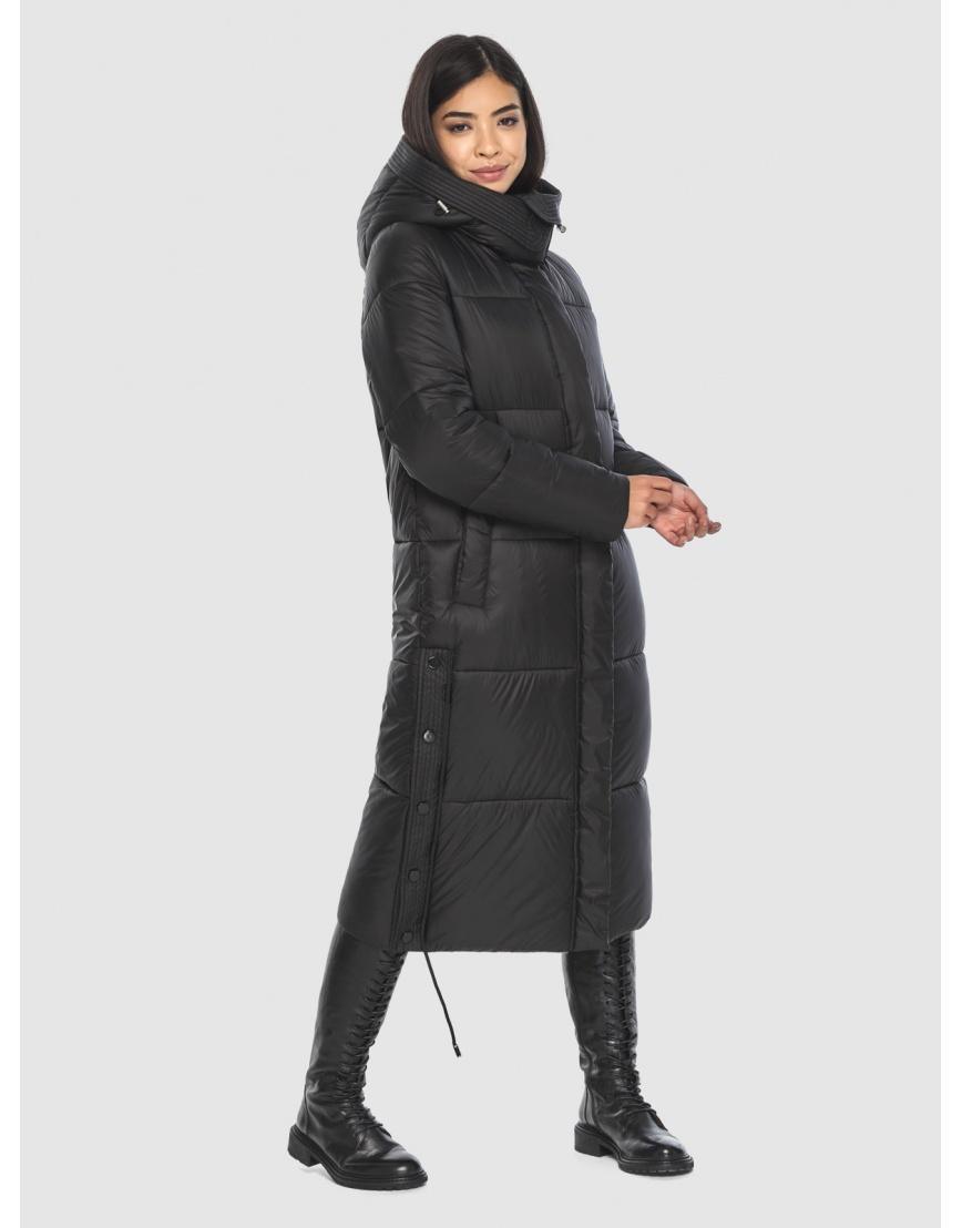 Чёрная куртка Moc удобная фирменная женская M6874 фото 3
