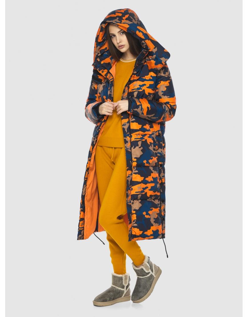 Куртка с рисунком женская Vivacana длинная 7654/21 фото 6