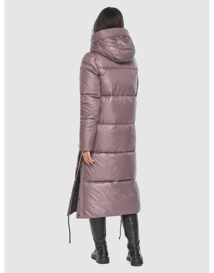 Длинная пудровая куртка Moc женская модная M6874 фото 4