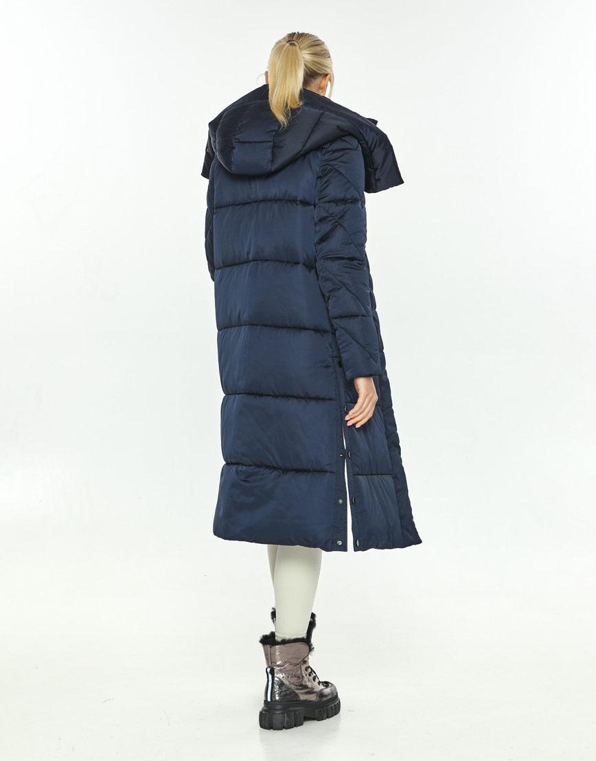 Зимняя синяя куртка женская Kiro Tokao стильная 60024 фото 3