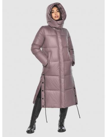 Длинная пудровая куртка Moc женская модная M6874 фото 1