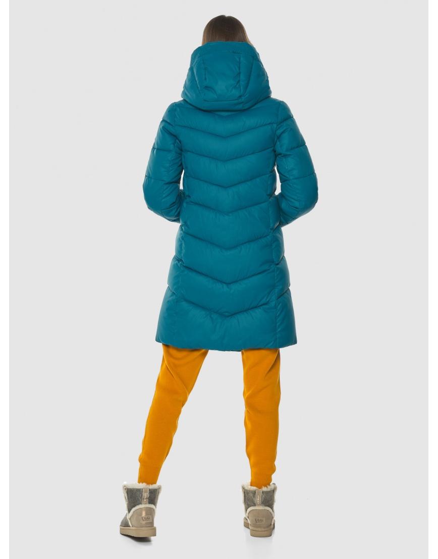 Стильная аквамариновая куртка женская Vivacana 7821/21 фото 4