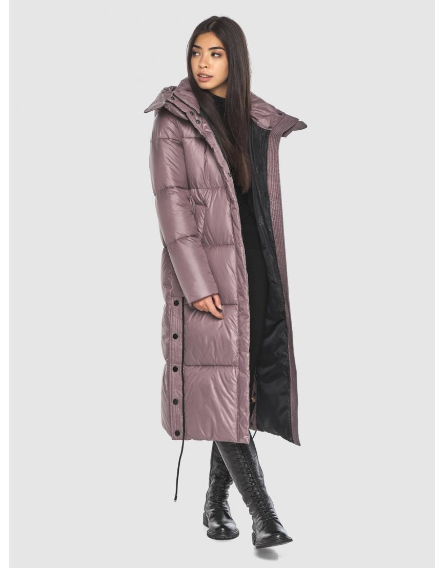 Длинная пудровая куртка Moc женская модная M6874 фото 2