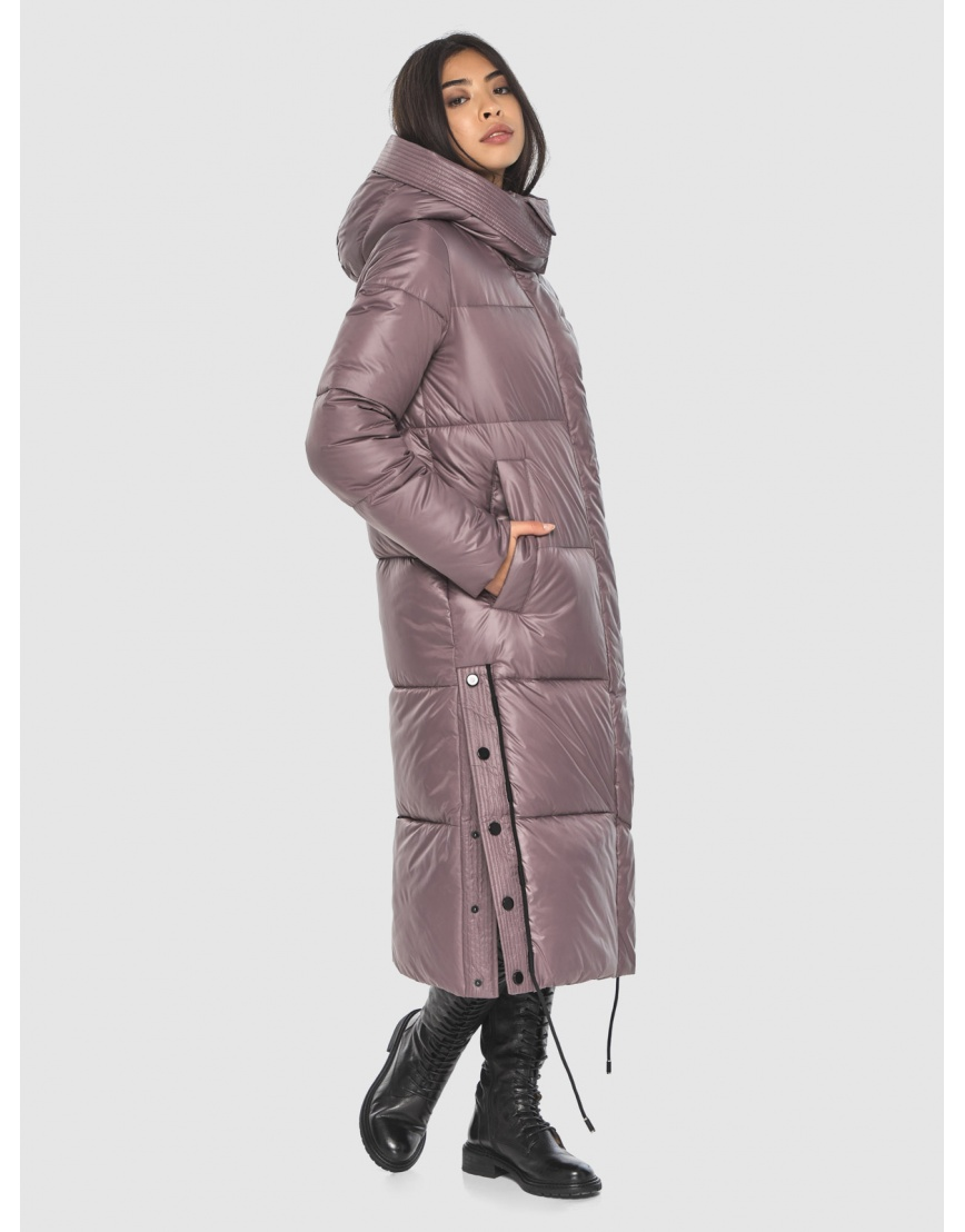 Длинная пудровая куртка Moc женская модная M6874 фото 3