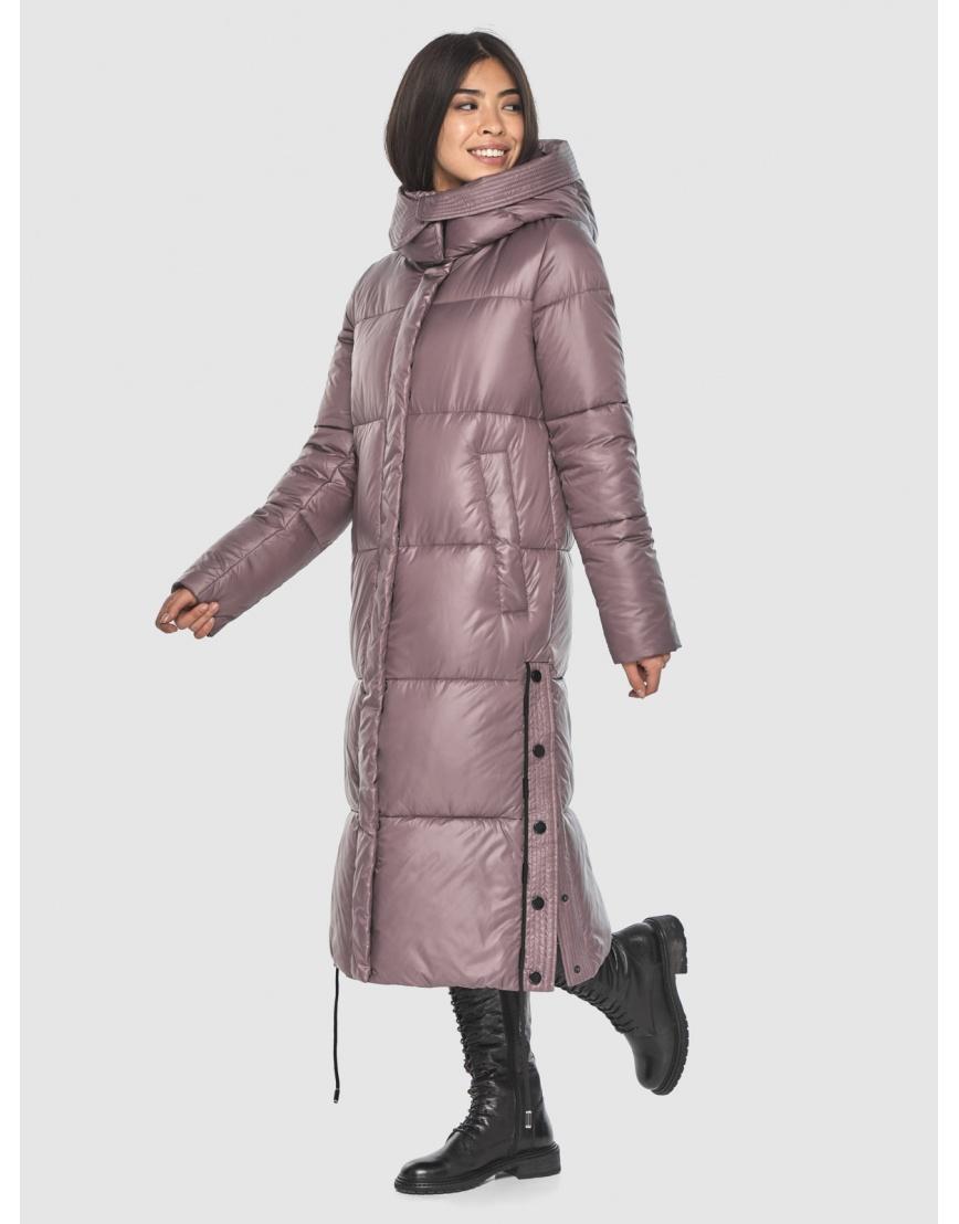 Длинная пудровая куртка Moc женская модная M6874 фото 6