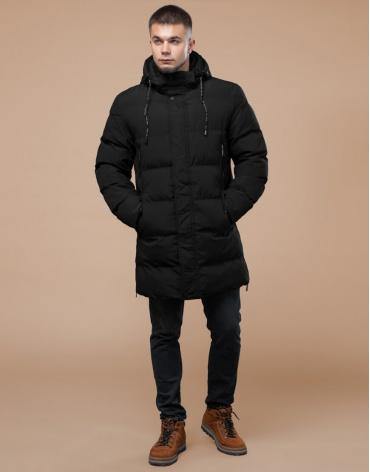 Куртка зимняя молодежная черная модель 25040 фото 1