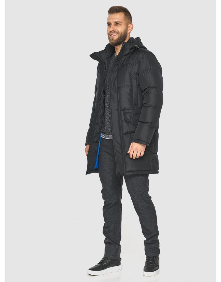 Куртка на молнии чёрная мужская Tiger Force 2814 фото 2